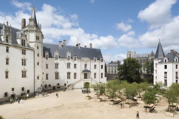 Château des ducs de Bretagne. Nantes