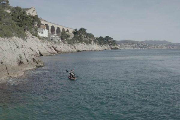 Mathieu près du port de l'Estaque - Marseille