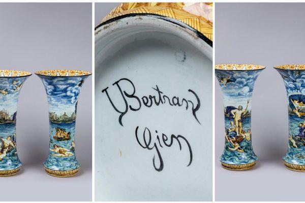 Les vases vendus par la maison Rouillac à un prix record.