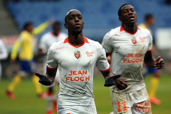 Auteur d'un doublé, Yoane Wissa a largement contribué à la victoire du FC Lorient contre Sochaux (0-4) ce samedi.