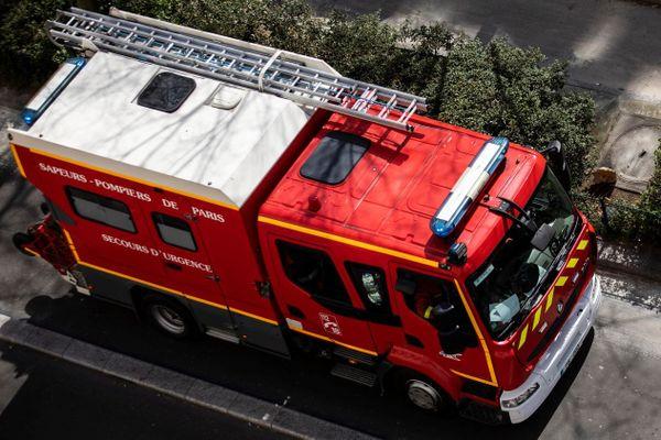 30 pompiers ont été mobilisés rue Constance, tandis que 40 autres se sont déplacés rue de la Chapelle (illustration).
