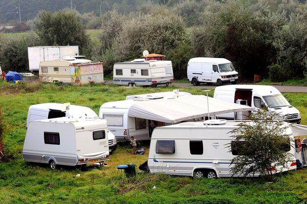 """Le préfet de la Haute-Savoie a adopté un nouveau """"schéma d'accueil"""" des gens du voyage. Photo d'illustration."""