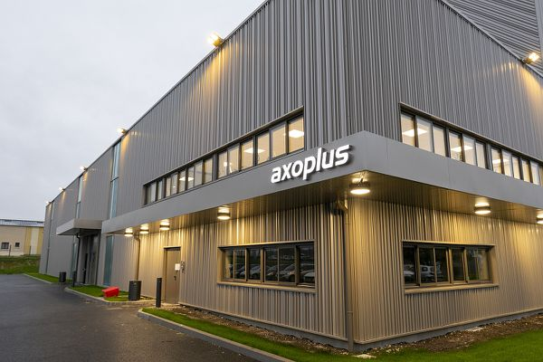 L'usine Axoplus a été inaugurée le 8 octobre 2020.
