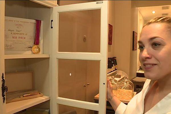 Nathalie Ragot a remporté le concours de la Cuillère d'Or Cuisine.