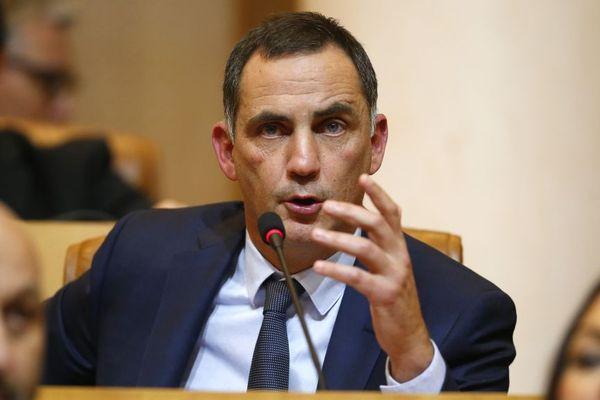 Gilles Simeoni, dirigeant du mouvement autonomiste Femu a Corsica et président du Conseil exécutif de la nouvelle collectivité territoriale unique de l'île.