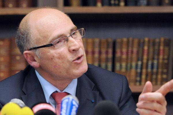 Brice Robin, procureur de Marseille, annonce une baisse de la délinquance à Marseille