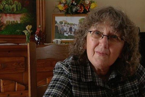 Marie Pichon, la mère de Christelle Maillery, collégienne de 16 ans tuée de 31 coups de couteau en 1986 au Creusot, en Saône-et-Loire