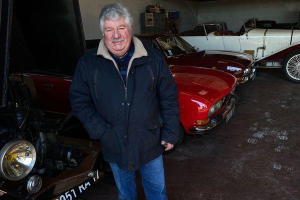 Jean-Marie Leboutet collectionne les vieilles et belles mécaniques depuis 44 ans.