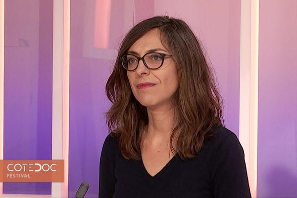 """Maïté Peltier, Responsable de la programmation du Festival """"Filmer le Travail"""""""