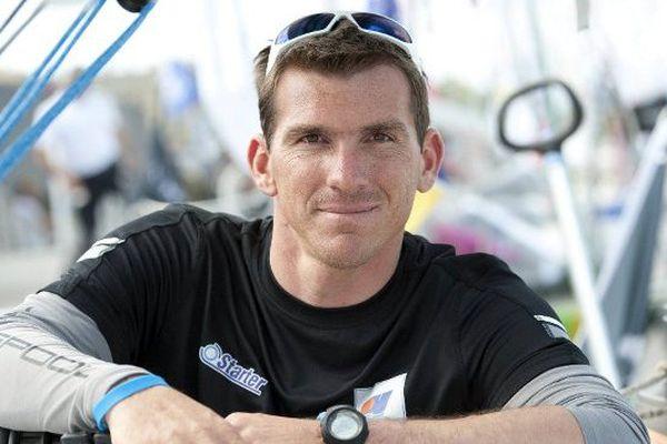 L'Héraultais Xavier Macaire est au départ de la 46ème édition de la Solitaire du Figaro - 28 mai 2015