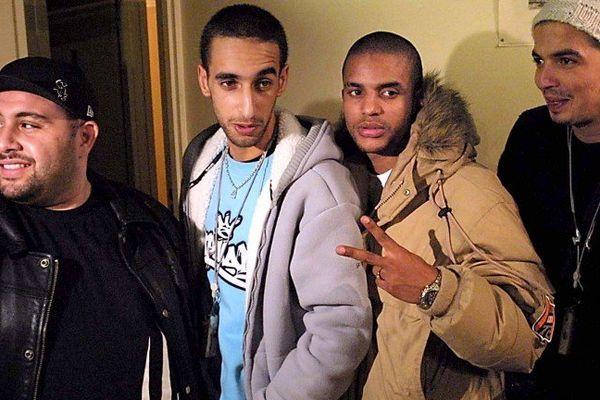 Le groupe de rap français Sniper
