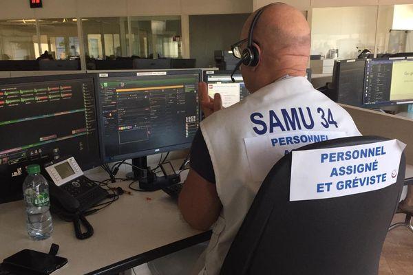 Les assistants de régulation du SAMU de l'Hérault sont en grève - 13/8/2019