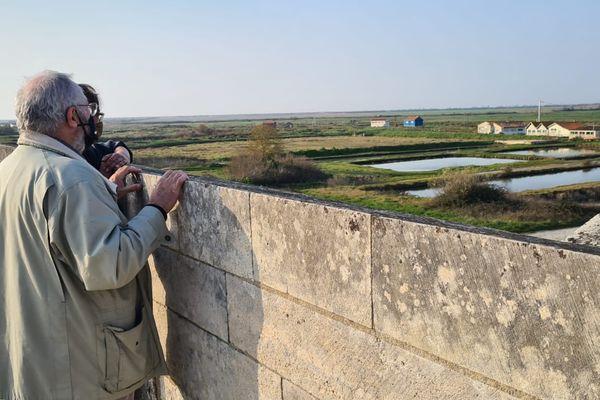 La cité fortifiée de Brouage autrefois bordée par l'océan Atlantique, entre Rochefort et l'île d'Oléron.
