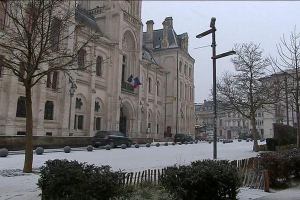 La neige a refait son apparition en Poitou-Charentes.
