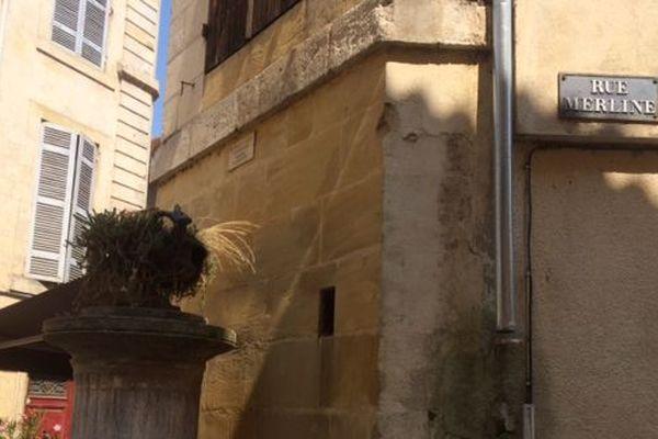 Le drame s'est déroulé au croisement de la rue Merline et de la rue Fontaine à Bergerac.