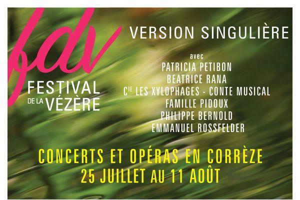 Festival de la Vézère, du 25 juillet au 11 Août 2020