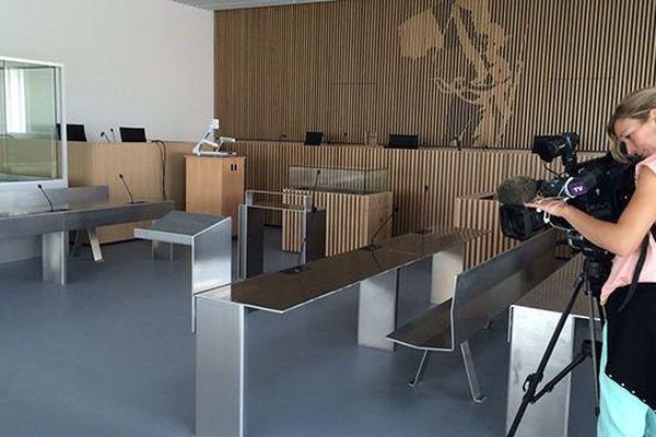 La salle d'audience correctionnelle, ultra-moderne