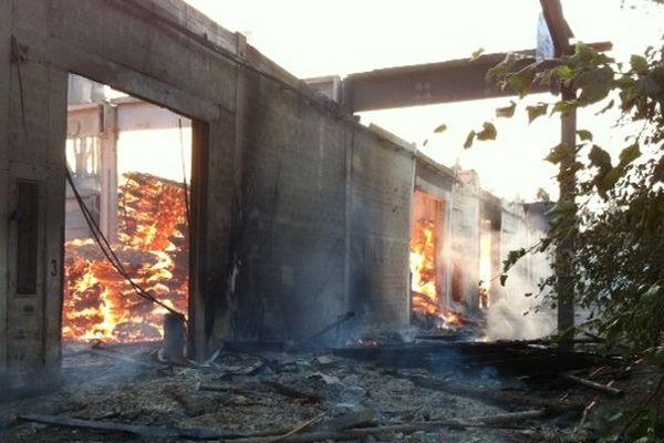 L'incendie de l'usine Depalor