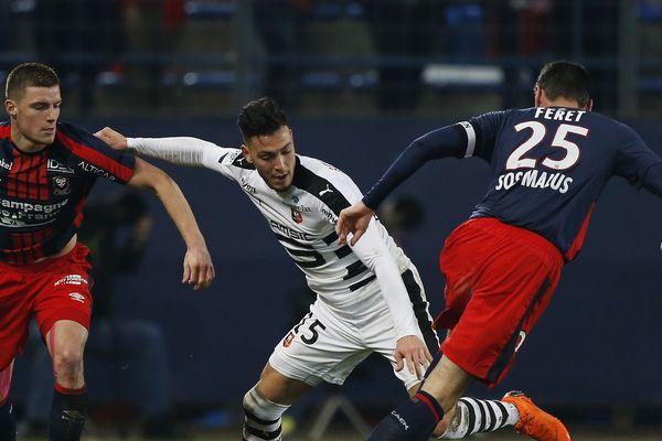 SMC face au Stade Rennais le 17/02/2018