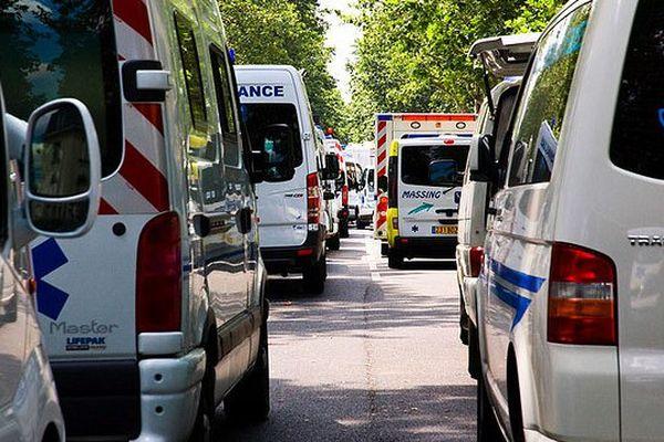 Les ambulanciers manifesteront à Nantes le 16 septembre contre la politique de Santé du gouvernement