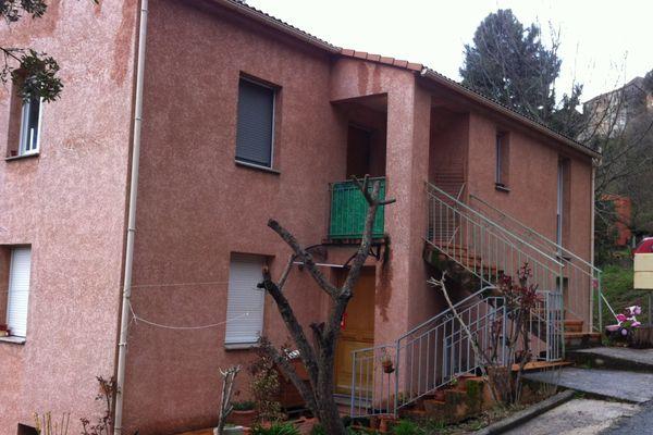 La maison de de Germina Lacosta-Puigvert, 83 ans, à Poggio di Venaco  a été examinée par les techniciens de l'identité judiciaire samedi 22 mars