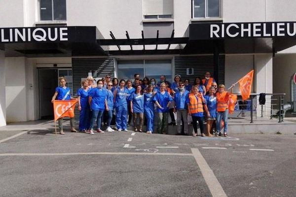 Grève à la clinique Richelieu