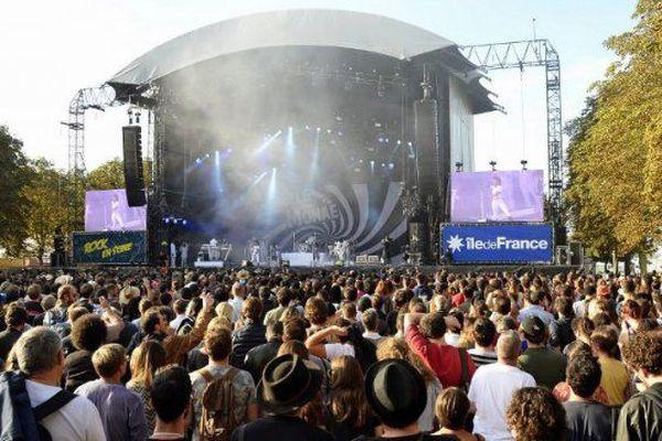 Le festival Rock en Seine dans les Hauts de Seine