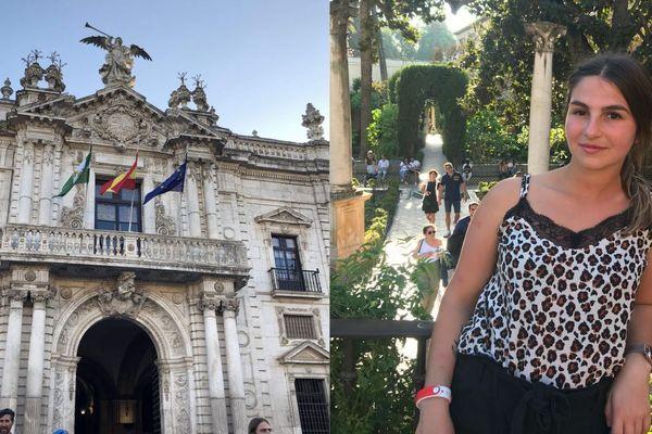 Avec la fermeture des frontières, Margaux Dhuicque étudiante en Erasmus à l'Université de Séville ne sait pas encore quand elle pourra repartir en Espagne
