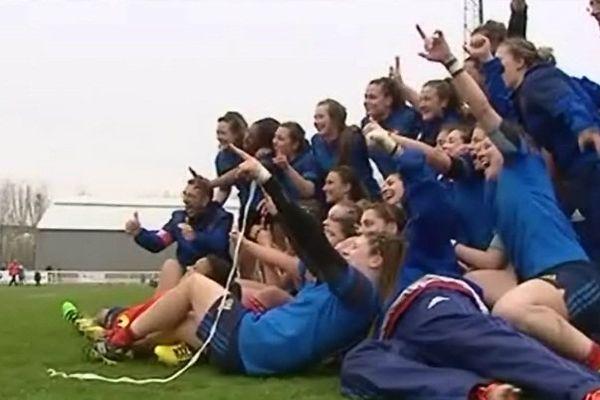 L'équipe de France féminine de Rugby (- de 20 ans)