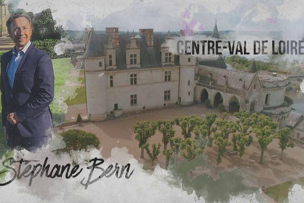 Découvrez le château d'Amboise vu du ciel, et ses histoires secrètes contées par Stéphane Bern