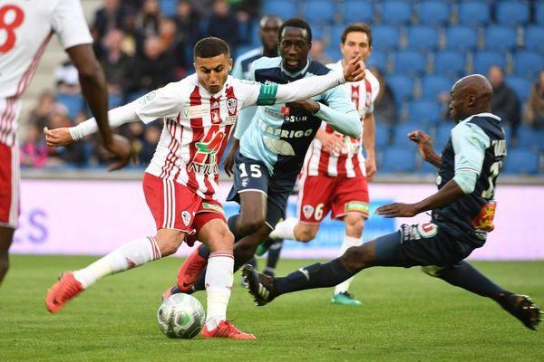 27 avril 2018 - L'ACA s'est inclinée face au Havre lors de la 36e journée de Ligue 2