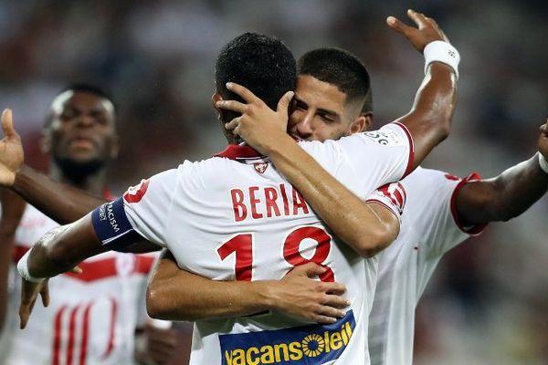 Franck Béria a marqué son premier but avec le LOSC depuis... 2010.