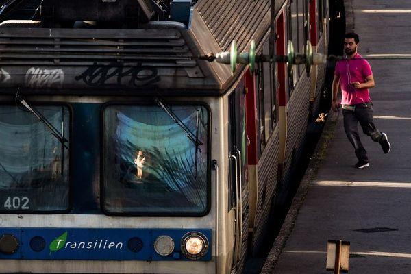 Amélioriation du trafic des transports franciliens, en particulier sur le réseau SNCF, ce mardi 14 janvier.