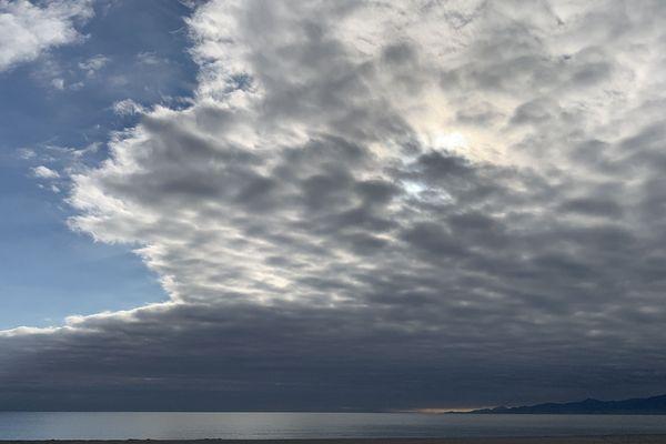 Les nuages sont encore bien présents...