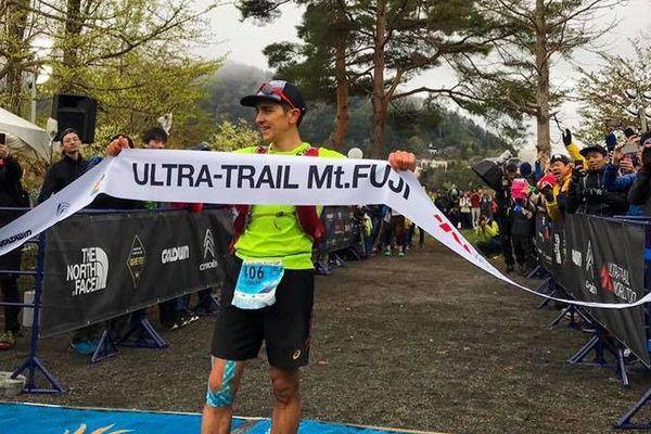 Victoire de Xavier Thévenard sur l'Utra Trail du Mont Fuji au Japon