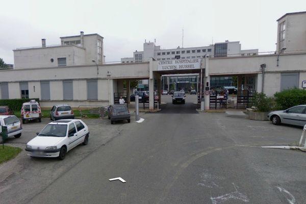 Le centre hospitalier Lucien Hussel à Vienne (Isère)