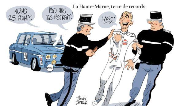 Le regard de Thierry Doudoux, dessinateur.