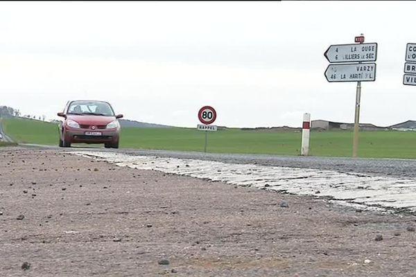 Le tronçon concerné est situé entre Varzy et Auxerre, sur la RN 151