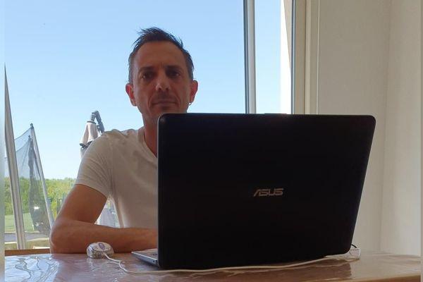 Ludovic Bouvier, patron des métallos CGT du Nord et du Pas de Calais.