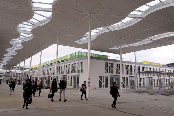 Le campus de l'université Jean Jaurès