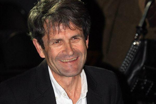 Lionel Duroy lors de la remise du prix Francois Mauriac à Bordeaux le 22.10.2010