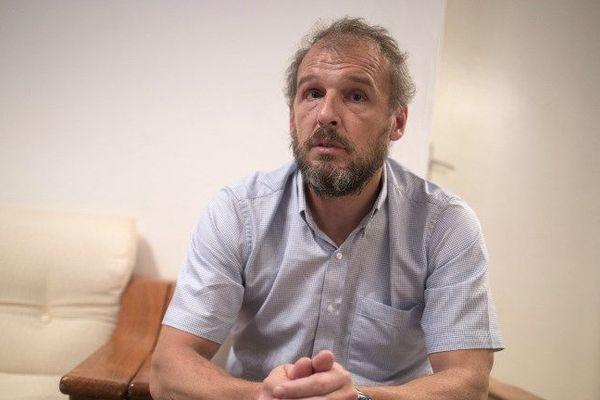 Sébastien Chadaud-Pétronin en Mauritanie, le 24 novembre dernier