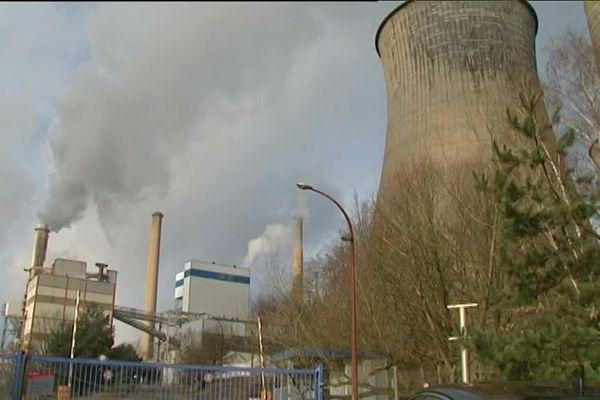 La tranche charbon de la centrale Emile Huchet de Carling (Moselle).