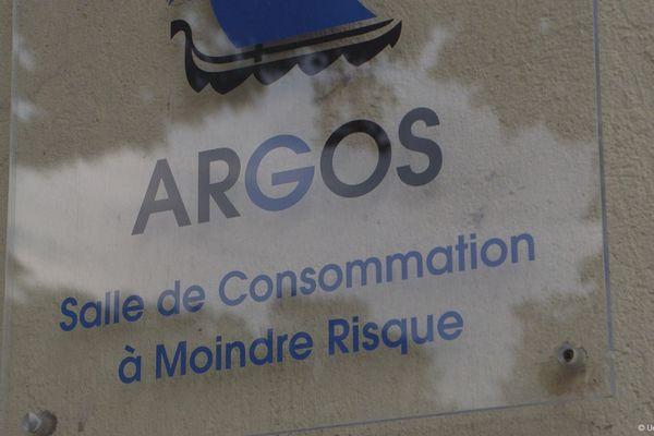 La salle de consommation à moindre risque de Strasbourg : Argos