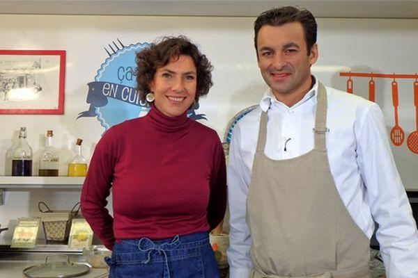 Sophie Menut et Jérôme Brochot