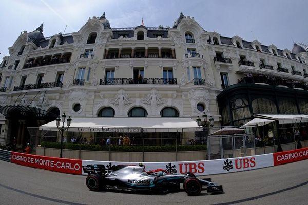 L'Hôtel de Paris, propriété de la SBM durant le dernier Grand Pirx de Monaco.