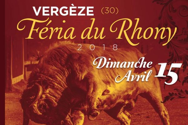 Une affiche totalement française pour la novillada de Vergèze.