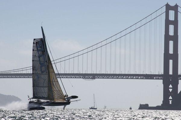 L'hydroptère à San Francisco cet été