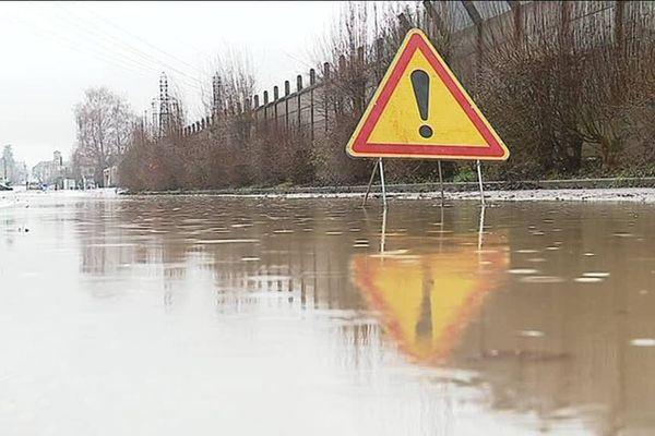 De nombreuses inondations s'étaient produites suite aux fortes intempéries du mois de janvier.