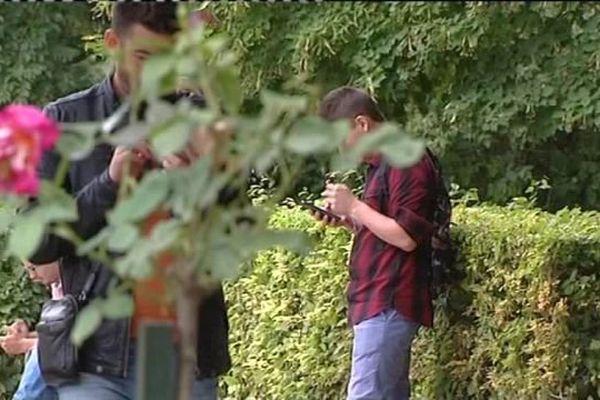 Dans les jardins de Bourges, les joueurs du Pokemon GO, un peu trop penchés sur leur téléphone mobile, négligent de faire attention aux plates-bandes. Le Ville vient d'établir un règlement de bonne conduite.